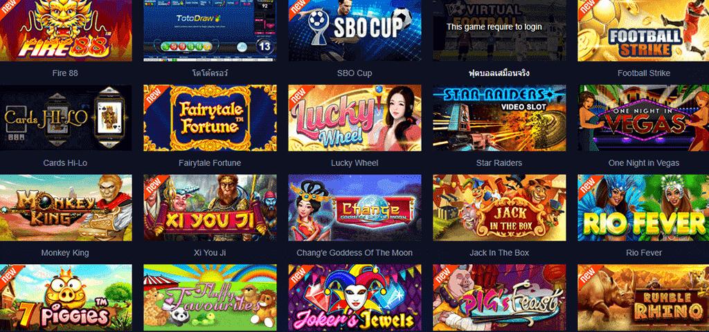 เกมพนันออนไลน์ ในเว็บ SBOBET เกมเดิมพันที่เล่นง่าย และได้เงินจริง