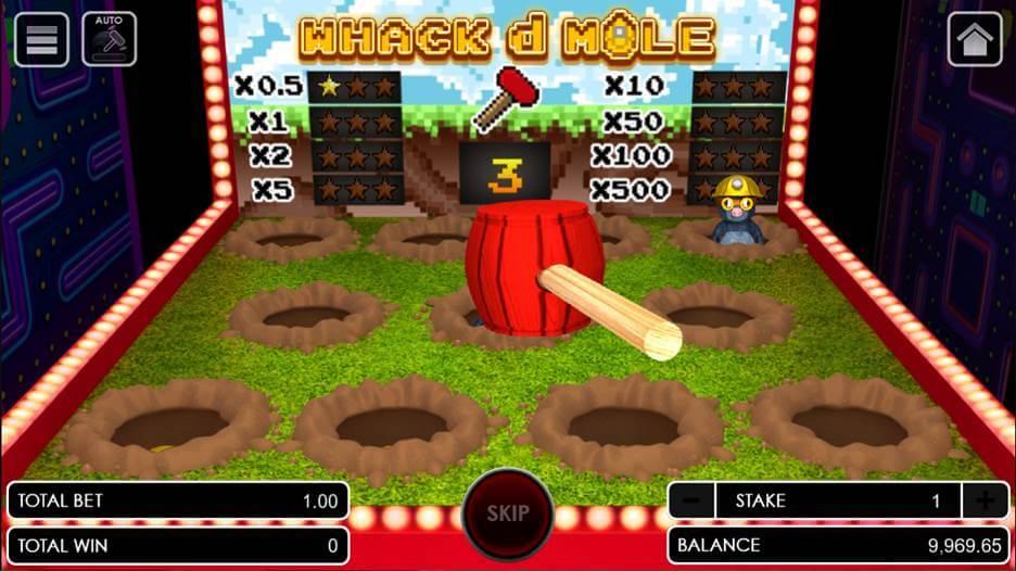 เกม Whack D mole