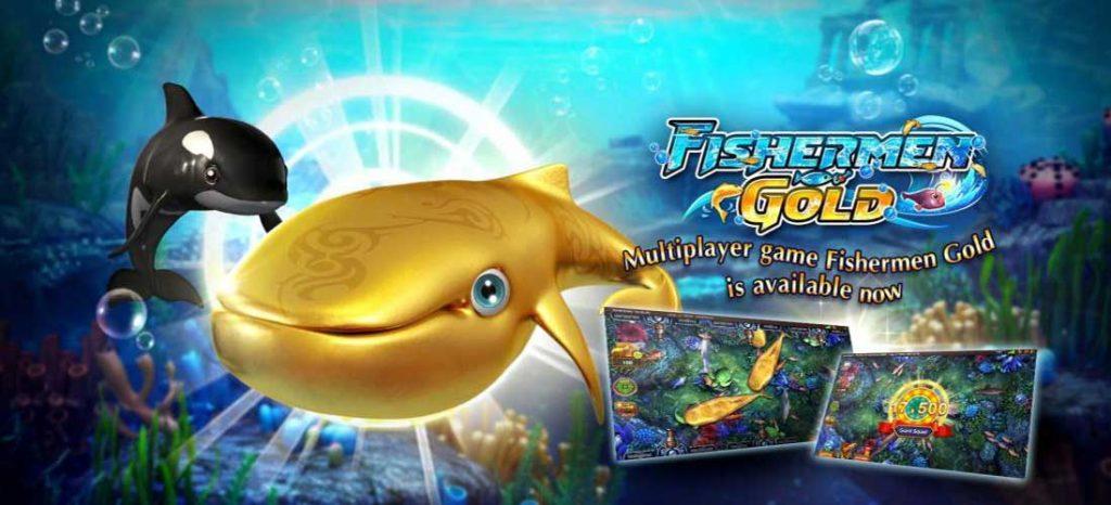 พนันเกมยิงปลา FISHERMEN GOLD ปลาตายง่าย มาพร้อมกับโบนัสมากมาย